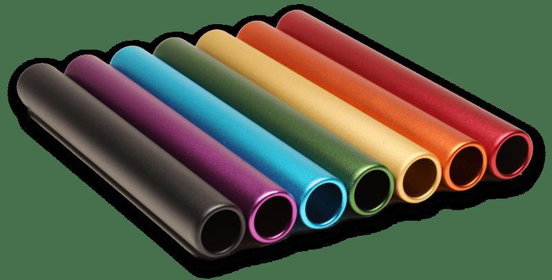Baton Base Colors - MATTE FINISH (RelayBaton.com)